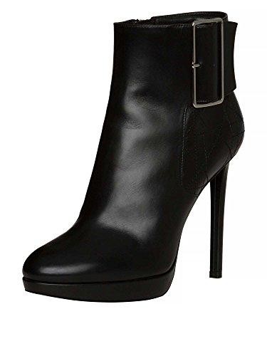 dior-femmes-bottines-cuir-veritable-noir-39