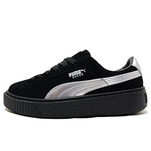Puma Platform Basket Donna Sneaker Explosive Nero OFOr0qn