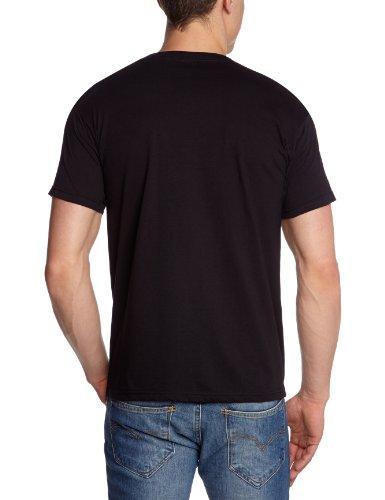 Collectors Mine Herren T-Shirt Judas Priest-Defender of Faith Schwarz (Schwarz)