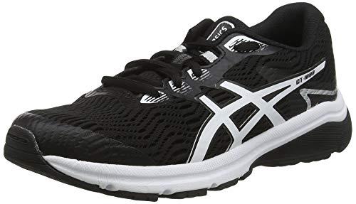 Asics Gt-1000 8 GS, Zapatillas de Running Unisex Niños, Negro (Black/White 001),...