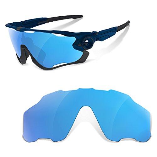 sunglasses restorer Polarisierte Erastzgläser für Oakley Jawbreaker, Ice Blue Gläser