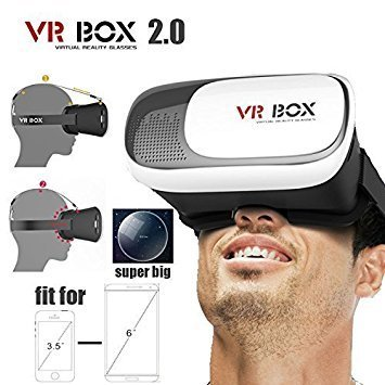 Choomantar Shop Version 2.0 3D Glasses Virtual Reality Headset Box for Moto G3