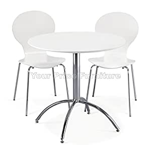 Your Price Furniture Com Kimberley Dining Set White Table And 2