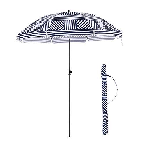 parasol de plage parasol anti uv 50 solide pliable et. Black Bedroom Furniture Sets. Home Design Ideas