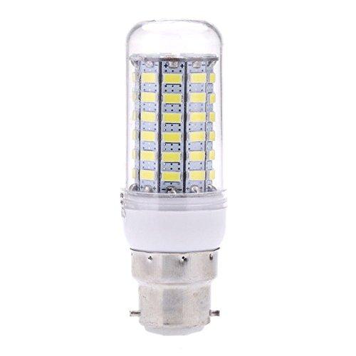lumiere LED - TOOGOO(R)B22 6W 5730 SMD 69 LEDs en forme de mais ampoule lampe a economie d'energie de 360 degres Blanches 200-240V
