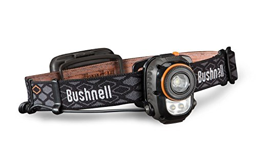 Bushnell Stirnlampe 3AA Rubicon Headlamp, T.I.R. Optic, Auto-OLM, 10H250ML