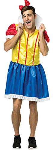 Halloweenia - Herren Bro White Prince Charming Karneval Komplett Kostüm , Mehrfarbig, One ()