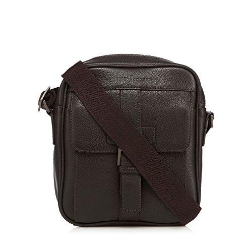 j-by-jasper-conran-mens-designer-brown-buckle-detail-shoulder-bag-one-size