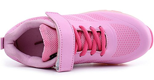 NEWZCERS , Chaussures d'athlétisme pour femme Rosa (bz003)