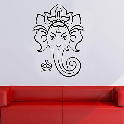 SacredHindu God Wall Sticker Home Decor Wall Art Murals Removable Vinyl Wall Decals Living Room Bedroom Decora43cmx29cm