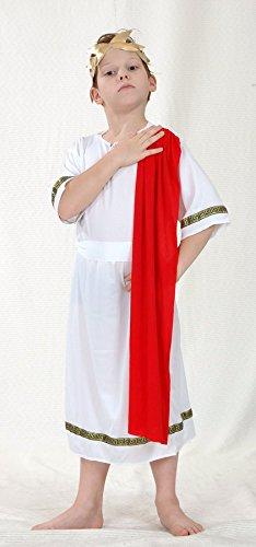 Imagen de children  disfraz de emperador romano infantil, talla 4  6 años