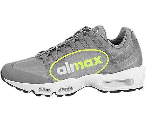 2cc89f6706d Nike Men s Air Max 95 NS GPX Dust Volt Dk Pewter White Running Shoe 11.5  Men US