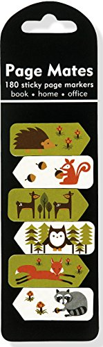 Woodland Friends Page Mates (Set of 180 Sticky Notes, Page Markers)