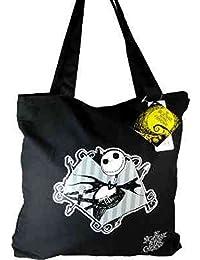 Grand sac noir bandoulière etrange noël mr jack 39016pk