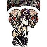 YUJEAN Sticker. Hochwertige Aufkleber aus Vinyl fuer Motorrad, Roller, Helm, Auto, Boards etc