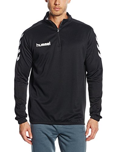 Hummel Herren Sweatshirt Core 1/2 Zip, Black, M, 36-895-2001