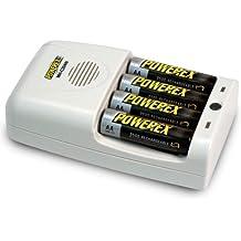 Powerex - Powerex Cargador Ligero Inteligente Para 4 Pilas Aa,Aaa Nimh