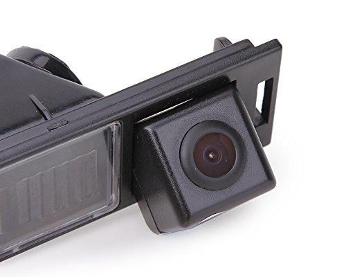 Dynavision Rückfahrkamera fahrzeugspezifische Kamera unauffällig integriert in der Kennzeichenbeleuchtung Bulli Nummernschildbeleuchtung für IX35 Tucson MK2 2009~2016