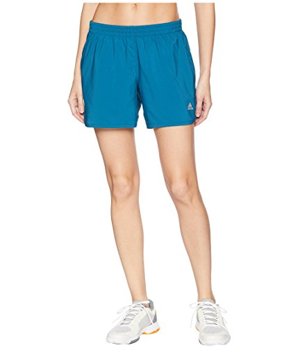 adidas Women's Run Shorts Real Teal X-Small 4