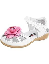 EOZY Basse Chaussures Bébé Fille Enfant Fleur Soft-Soled Princesse Été Sandales Chaussures