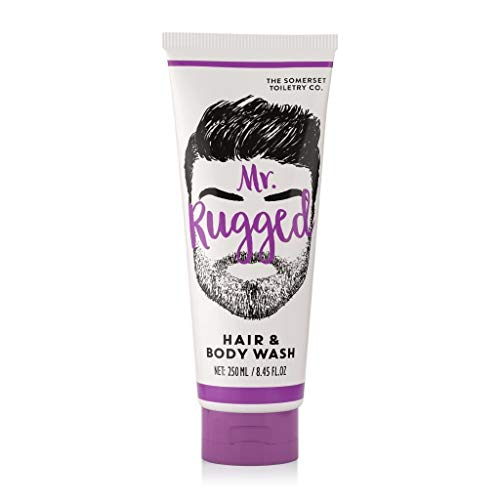 MR Rugged Cedarwood & Lemongrass Hair & Body Wash 250ml -