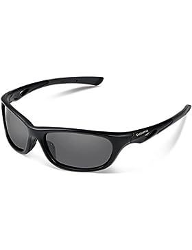 Duduma Gafas de Sol Deportivas Polarizadas Perfectas Para Esquiar Golf Correr Ciclismo con el Marco Du646 Irrompible...