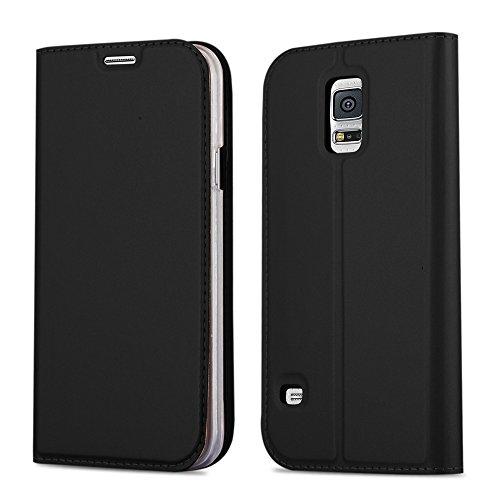 Funda de protección sin anilla in colores CLASSY para Samsung Galaxy S5 / S5 NEO Esta cubierta está muy modernos y es atractiva para todos.La selección de colores permite una apariencia individual y el aspecto mate está un característica elegante. + ...