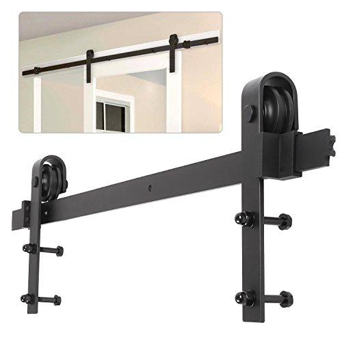 fixkit quincaillerie kit de rail pour porte coulissante hardware porte coulissante ensemble. Black Bedroom Furniture Sets. Home Design Ideas