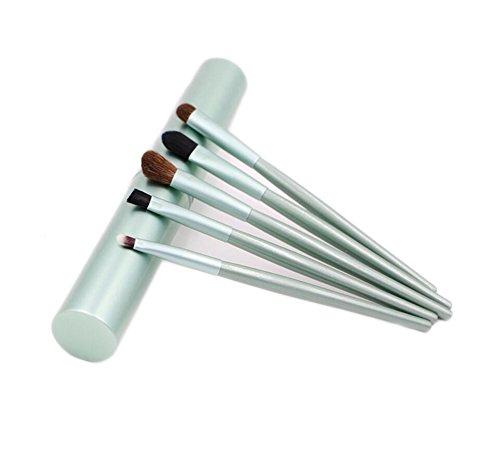 Demarkt 5pcs Pinceaux Maquillage Outil Kit Brosse Cosmétiques mis versez Sourcils Lèvres Fard à Paupières