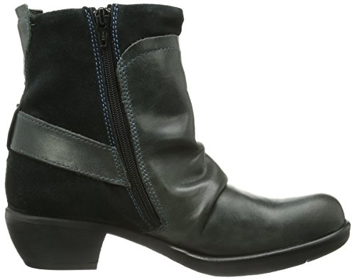 Fly London Mel, Boots femme Gris (Diesel 010)