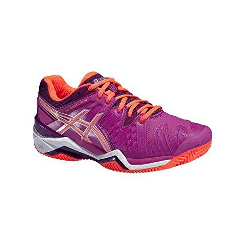 Asics Damen Tennisschuhe Outdoor Gel Resolution 6 Clay Pink (315) 36EU