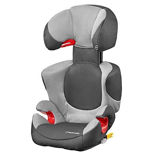 Maxi-Cosi Rodi XP Fix Kinder/-Autositz 15-36 kg mit Isofix, mitwachsender Gruppe 2/3, nutzbar ab 3,5 bis 12 Jahre, dawn grey (grau)