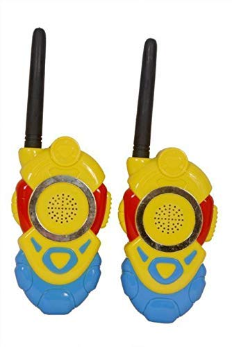 FunBlast Walkie Talkie; 2 Player Walkie Talkie Toy Set for Kids - 2 Piece (Yellow)