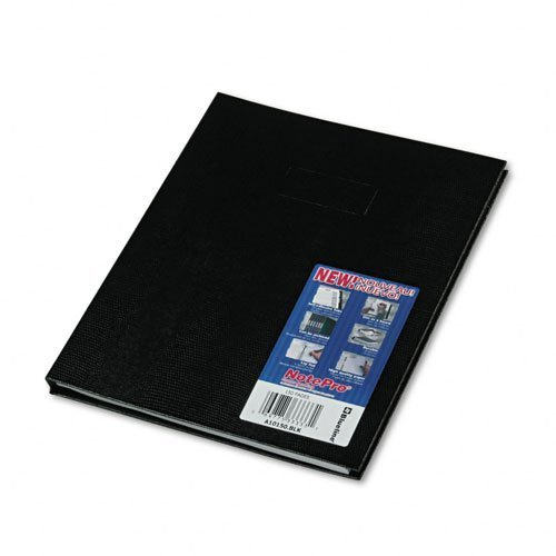 Blueline Products - Blueline - Note Pro Business Notebook, College Rule, Letter, White, 150 Sheets/Pad - Sold As 1 Each - Durable hard cover provides increased writing stability. - Twin-wire binding allows book to lie fflat when open. - Includes self-sticking colored tabs/labels to customize index, cover and spine. - Microperforated pages. - Ruled with space for date. by Blueline