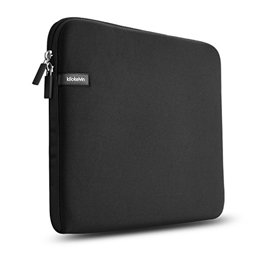 "Kilokelvin Housse pour ordinateur portable 11-11.6 pouces Sac de transport pour rembourrage résistant à l'eau pour MacBook Air / MacBook Pro (Retina) / Lenovo Yoga 3 Pro / Dell XPS13 (9350) et plus 11.6 ""Tablette Chromebook Ultrabook Notebook Netbook (noir)"