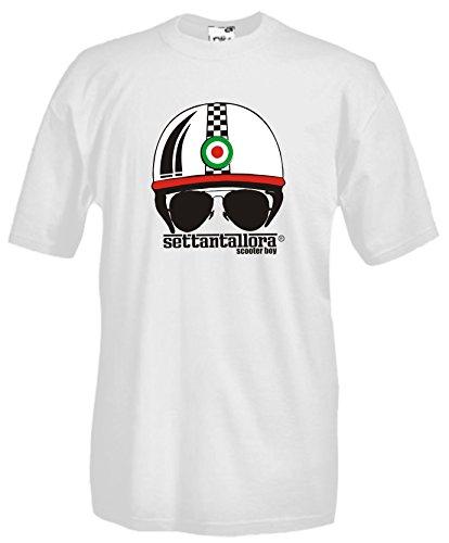 Settantallora Herren T-Shirt weiß Bianco Bianco