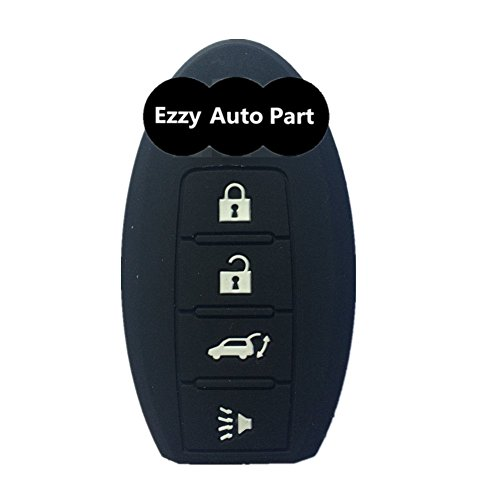 ezzy-auto-black-key-skin-jacket-silicone-remote-key-fob-cover-bag-holder-4-buttons-fit-for-infiniti-