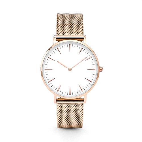 Damen Uhren,Frauen Armbanduhren Günstige Uhren Damen Casual Analoge Quarz Uhr Luxus Armband Uhren Edelstahl Mode Armbanduhr Business Sport Uhr für Mädchen Frau Damenuhr