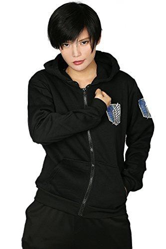 AOT Hoodie Cosplay Wings of Liberty Zip Up Hoody Jacke Kleidung Sweatshirt Kapuzen Pullover Kostüm