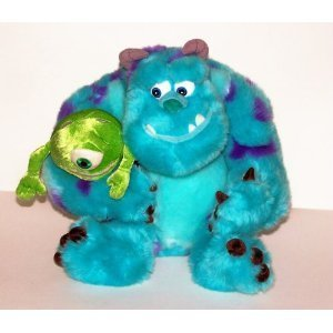 Mike and Sully Monster's Inc. Plush Toy - Disney Pixar by Disney