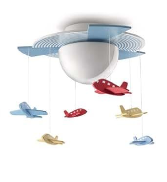 Philips avigo lampada da soffitto bambino con aerei - Philips illuminazione casa ...