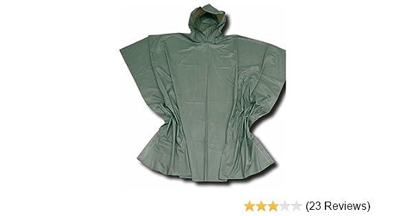 Regenbekleidung grün Bekleidung Angelsport Behr Poncho Regenschutz Outdoor Bekleidung