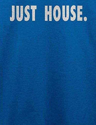 Just House T-Shirt Royal Blau