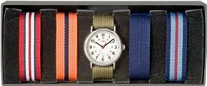 Reloj Timex UG0099Q4 de cuarzo unisex con correa de nylon, color multicolor de Timex