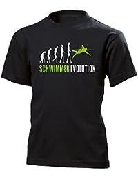 SCHWIMMER EVOLUTION KINDER T-Shirt 140 bis 164 Vers. Farben