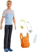 Barbie- Ken in Viaggio Bambola con Fotocamera, Zaino e Altri Accessori, Multicolore, FWV15