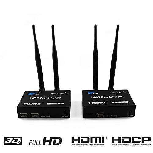 200M Wireless HDMI Extender 2,4 GHz/5 GHz HD 1080 P HDMI 1,3 HDMI Extender Transmitter/Receiver WiFi HDMI Extender Ethernet Port Ir Remote