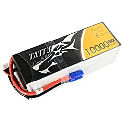 Tattu LiPo Batería 10000mAh 22.2V 15C 6S para RC de Multicopter y Aviones no tripulados UAV