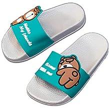 77d0c4531 Chanclas de Playa y Piscina para Niños Suave Bañarse Sandalias Zapatillas  para Niña ...