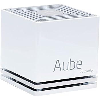 Aube ABS Purificateur d'air sans filtre par photo catalyse, 4 W, Blanc, 10 x 10 x 10 cm